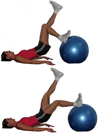 - (Training, Übungen, Knie)