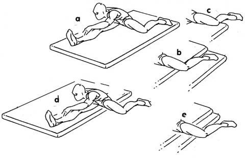 - (Sport, Leichtathletik, Stretching)