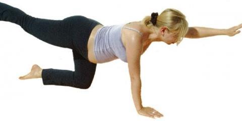 Yoga Katze für Schwangere - (Yoga, Kurs, schwangerschaft)