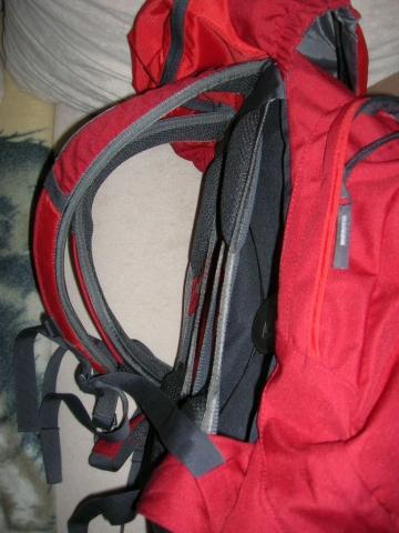 Rucksack mit Zwischenteil - (inline skates, skaten, Inliner)
