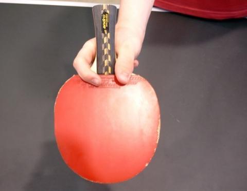 Chinesische Variante - (Halten Tischtennisschläger, Tischtennis Chienesisch)