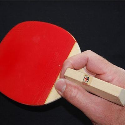 Japanische Variante - (Halten Tischtennisschläger, Tischtennis Chienesisch)
