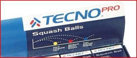 Die unterschiedlichen Squashbälle - (Squash, Ball, Unterschied)