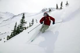 - (Tiefschneefahren, Technik Skifahren, Technik Tiefschnee)
