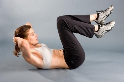 korrekte Crunches - (Sit-Ups, sit ups atmung)