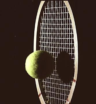 - (Tennis, Tennisschläger, Schlägerkopf)