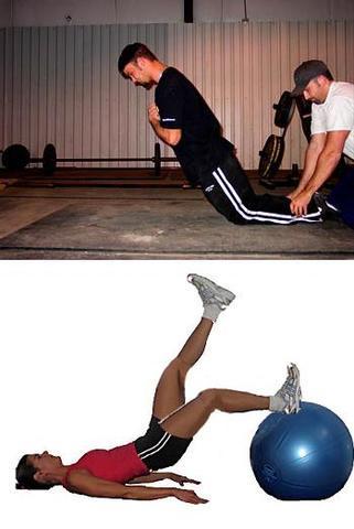 Bild 3: Training für die Hüftstrecker (nach Internetrecherche) - (Fussball, Sprint, Schnelligkeit)