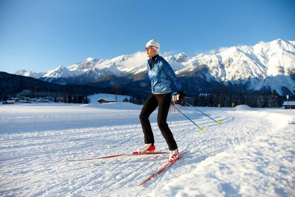 Langlauf in Tirol - (skifahren, Ski, Wintersport)
