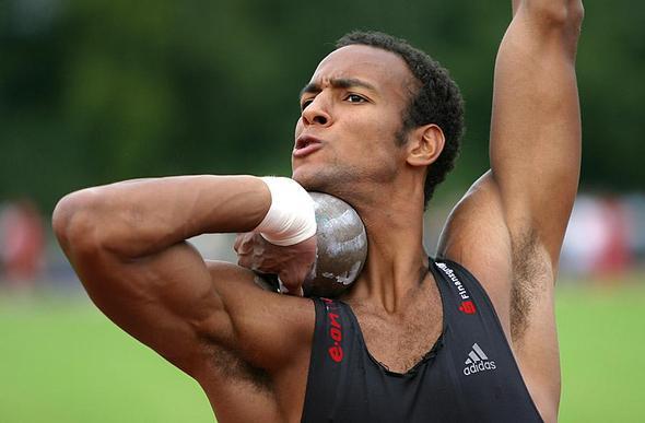 leichathletischer Zehnkämpfer - (Muskelaufbau, welche Sportart)