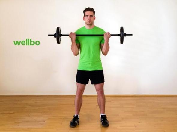 Bizepscurls I wellbo Gym - (Übungen, Übungen körperteile)