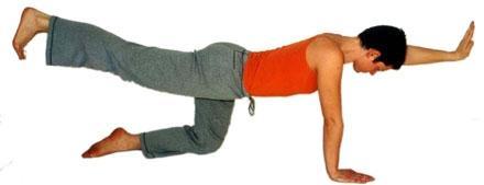 Diagonales Boot - Yoga Asana - (Gesundheit, Übungen, rückenschmerzen)