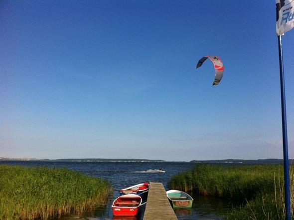 Unser Homespot auf Rügen - entspannt Kiten lernen - (Sport, surfen, Urlaub)