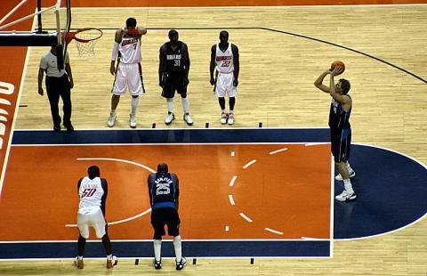 Positionswurf - (Technik, Basketball, trainingslehre)