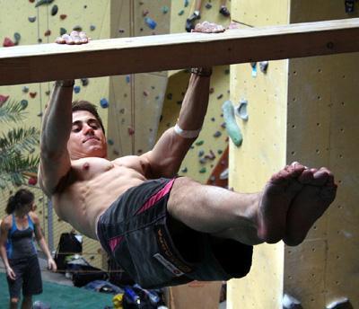 Bild 4: Hangwaage vorlings  - (Übungen, Turnen, Körperspannung)