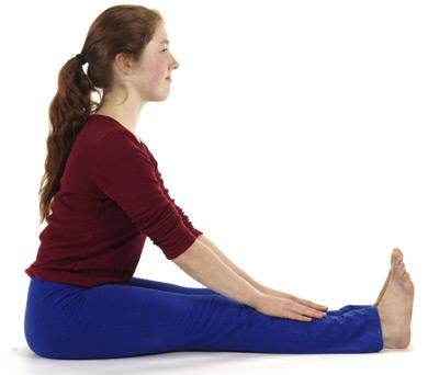 Yoga Asana Paschimotthanasana - (Gesundheit, Bauchtraining, Klappmesser)