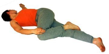 Krokodil Yoga Asana - (Fitness, Gesundheit, Rücken)