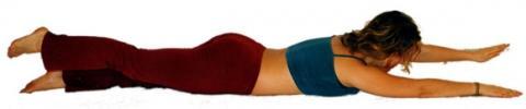 Yogastellung Boot - (Gesundheit, Yoga, Reha)