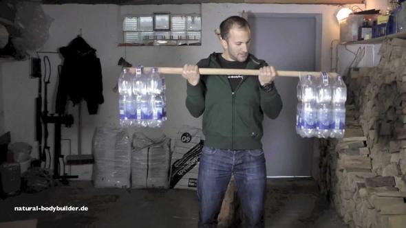 Hantelflasche - (Muskeln, Rücken)