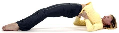 Sethu Bandhasana Yoga Schulterbrücke - (Fitness, Gesundheit, Übungen)