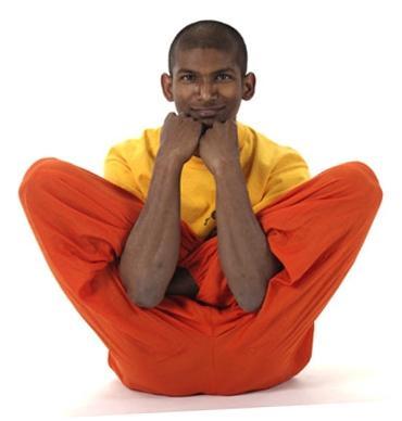 Bilduntertitel eingeben... - (Yoga, lotussitz, Hatha-Yoga)