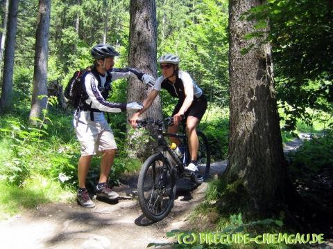 Wurzelpassage - (Mountainbike, Übungen, MTB)