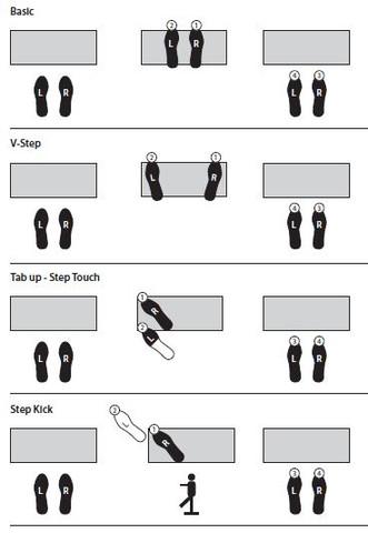 Step Aerobic 1 - (Stepper, step, step aerobic)
