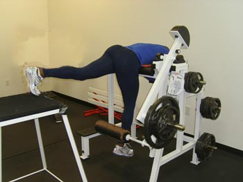 Bild 1 (Hamstringmaschine) - (Training, Fussball, Ausdauer)