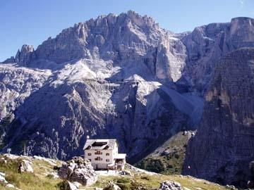 Die Zygmondi-Hütte in den Dolomiten - (Trekking, Bergwandern, dolomiten)