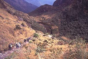 Unterwegs auf dem Inka Trail in Peru - (wandern, Trekking)