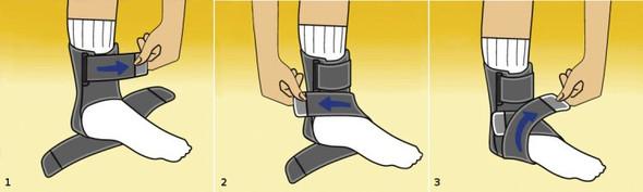- (Füße, Sprunggelenk, bandagen)