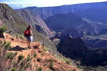 Wandern auf La Réunion im indischen Ozean - (wandern, Bergwandern, Europa)