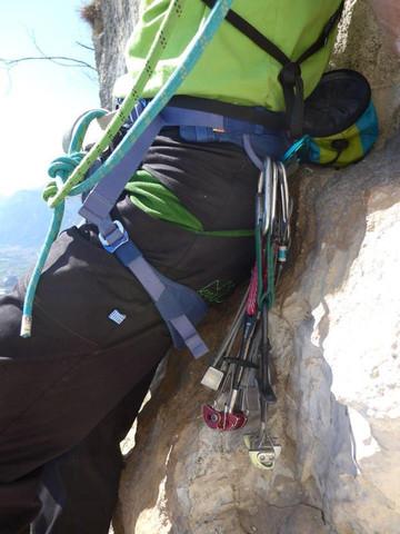 Alpinkletterhose Kraxl - (klettern, Sportausrüstung, Bouldern)