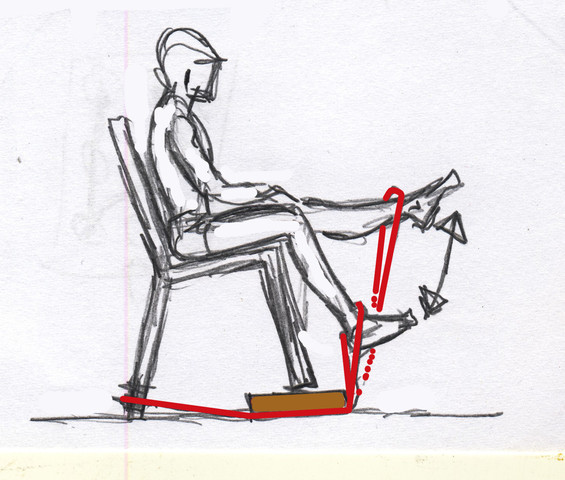 Bild 1 - (Muskeltraining, Sprunggelenk, Oberschenkelmuskulatur)