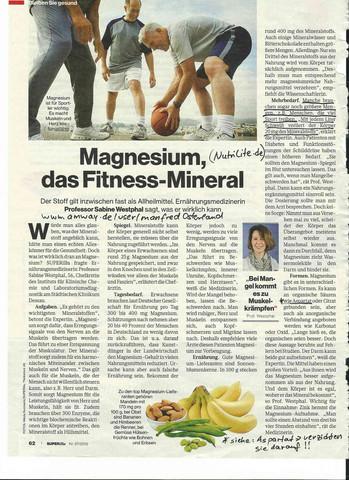 Wenn Magnesium fehlt.... - (laufen, Ernährung, Lauftraining)
