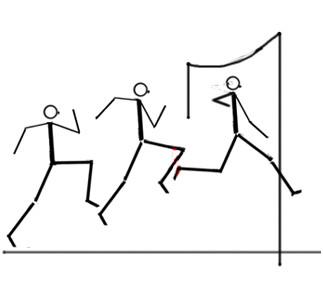 Bild 3 - (Schule, Weitsprung, Absprung Weitsprung)