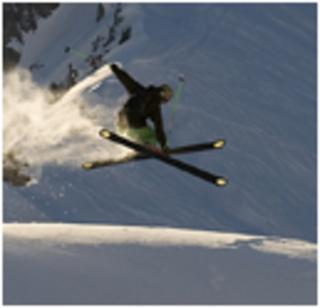 Bilduntertitel eingeben... - (Freestyle, Skistöcke, Park)