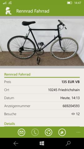 - (Fahrrad, Kaufberatung)