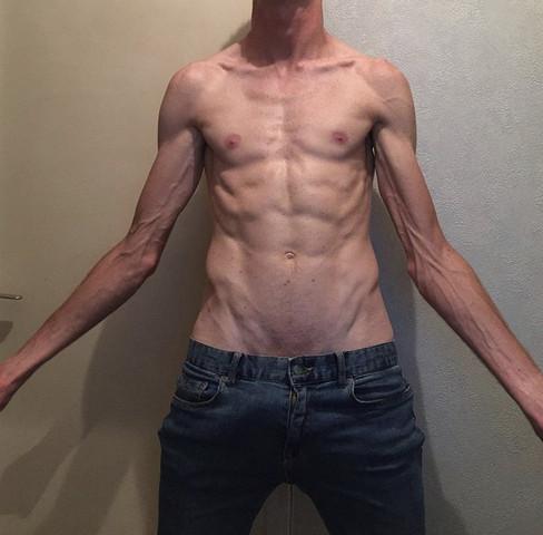Bin ich muskulös