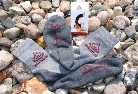 yoga socken mirabai - (Gesundheit, Yoga, Kalte Füße)