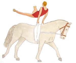 - (Übungen, Pferde, Voltigieren)
