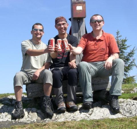 Auf dem Gipfel schmeckt's Bier am besten - (abnehmen, wandern, bergsteigen)