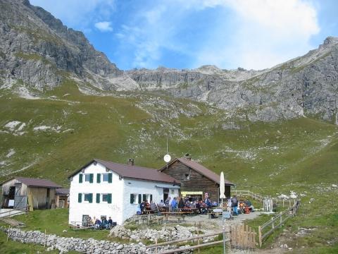 Die Widderstein-Hütte - (Mountainbike, wandern, Österreich)