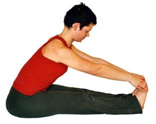 Yoga Asana Vorwärtsbeuge - (Gesundheit, Yoga, Aerobic)
