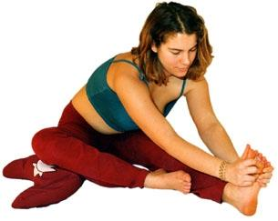 Einbeinige Yoga Vorwärtsbeuge - (Gesundheit, Yoga, Aerobic)