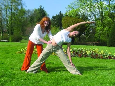 Yoga Dreieck - (Training, Yoga, Zeit)