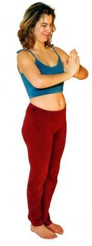 Statische Yoga Übung zur Stärkung der Brustmuskeln - (Yoga, Liegestütze, Trainingssteigerung)