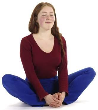 Schmetterling - Yoga Lotussitz Vorübung - (Gesundheit, Yoga, Knieprobleme)