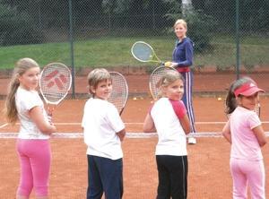 Bilduntertitel eingeben... - (Training, Tennis, Kinder)