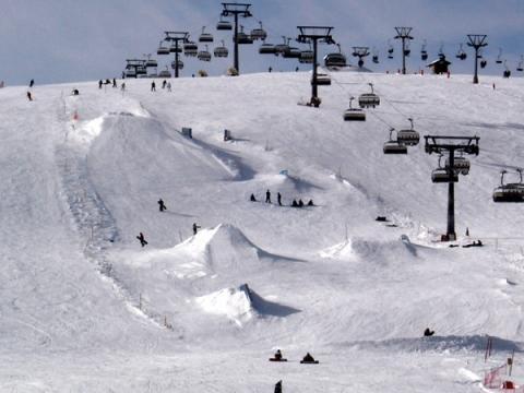 Bilduntertitel eingeben... - (skifahren, Ski, Oberkörper)