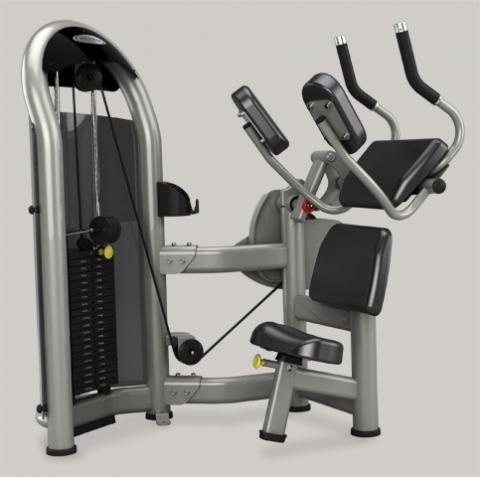 Bauchmuskelmaschine - (Fitness, Fitnessstudio, Bauchmuskeln)